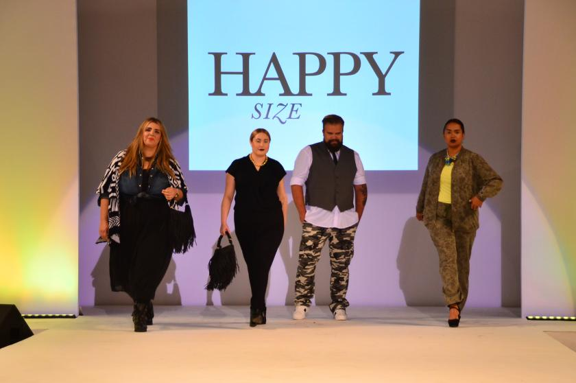 Hello Me! Hello Fashion! Happy Size auf dem Runway ...