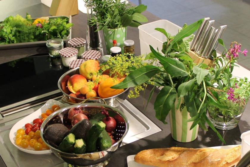 Küchenparty mit Wildkräutern | ©TZ Fichtelgebirge Essbares Fichtelgebirge